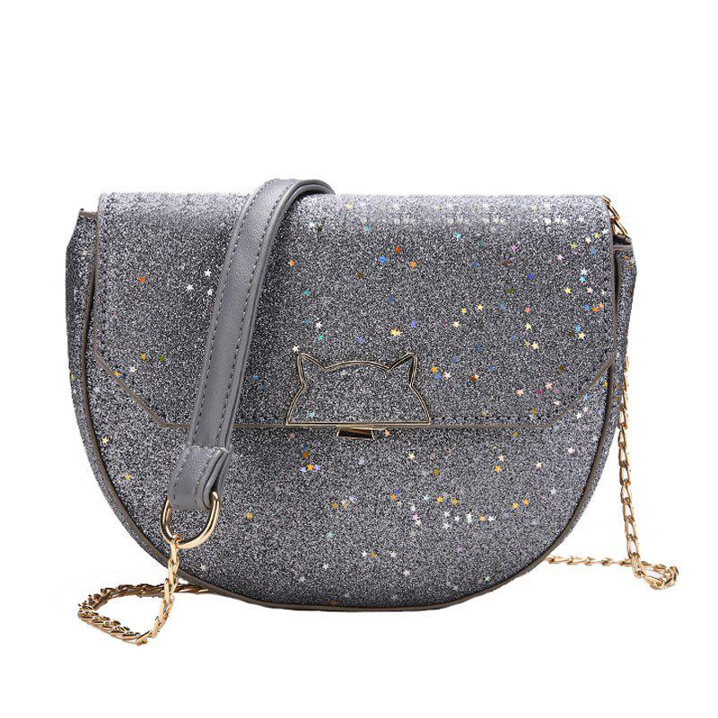Fashion Sequined Single Shoulder Messenger Bag