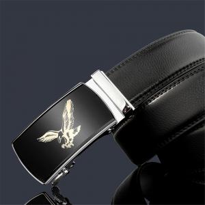 ZHAXIN 3007 Eagle Pattern Metal Automatic Clasp Man Belts -