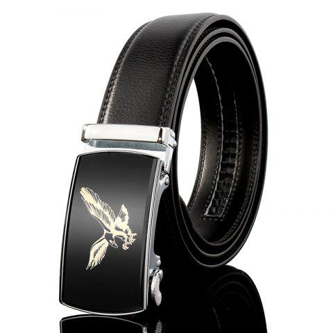 Sale ZHAXIN 3007 Eagle Pattern Metal Automatic Clasp Man Belts