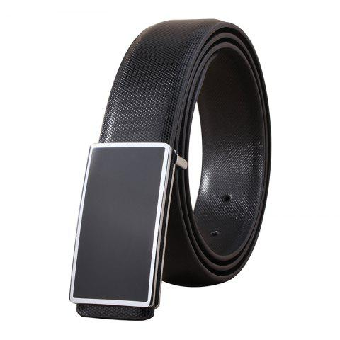 Cheap ZHAXIN 898 Man Simple Metal Frame Smooth Clasp Leisure Belt