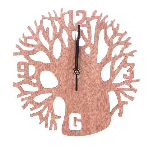 Latest Creative Wooden Tree Clock
