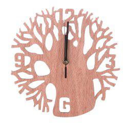 Creative Wooden Tree Clock -