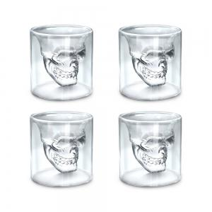 Sizes Halloween Skull Cup Wine Head Creative Party Drink Ware Transparent -