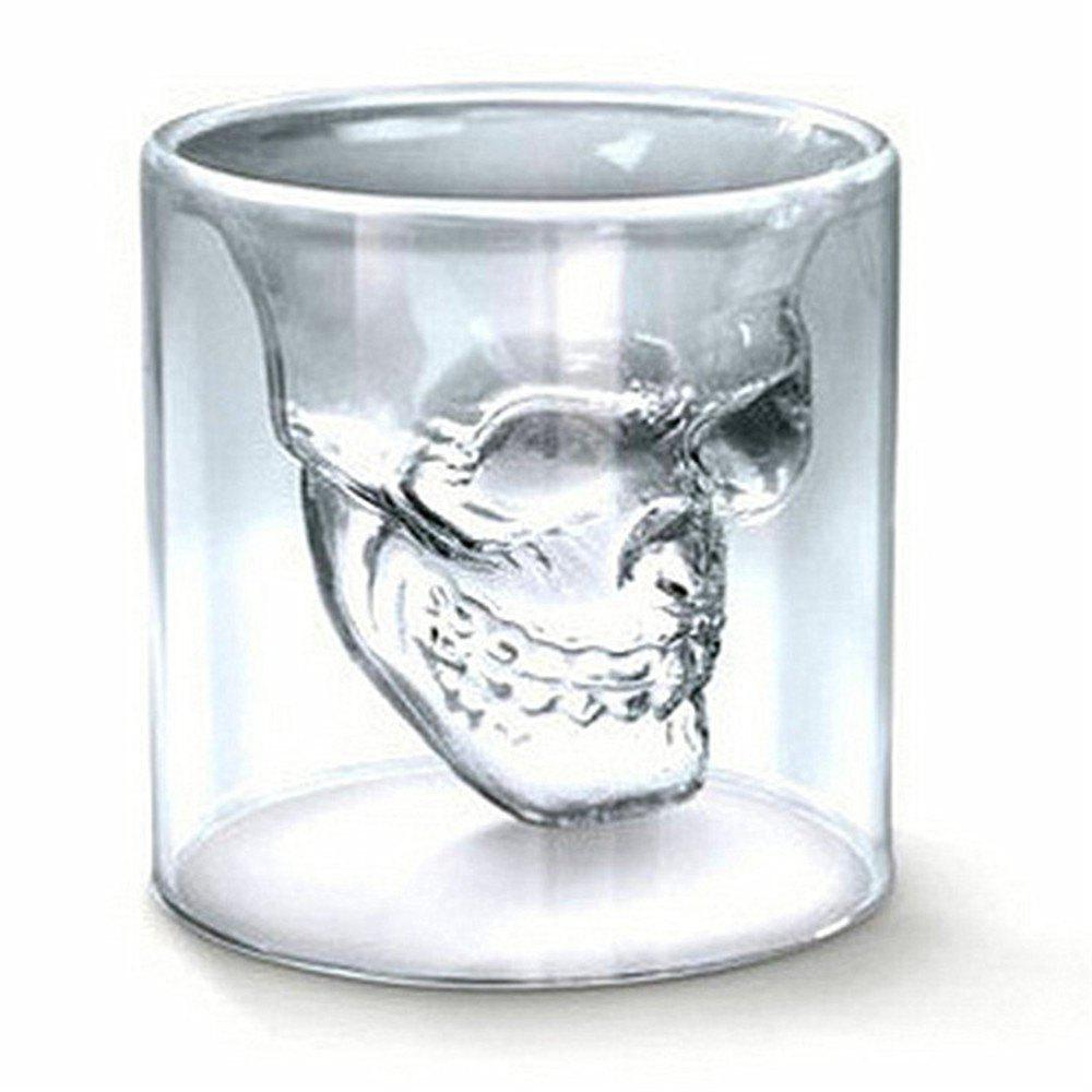 Best Sizes Halloween Skull Cup Wine Head Creative Party Drink Ware Transparent