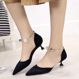 Spring and Summer New Pointed High-Heeled Shoes -
