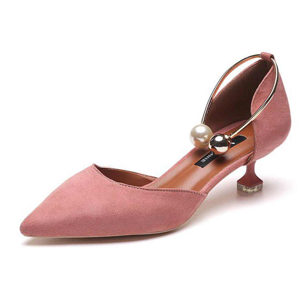 Unique Spring and Summer New Pointed High-Heeled Shoes