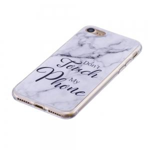 Fashion Marble Phone Case for iphone 8 Soft TPU Cover Fundas Case -