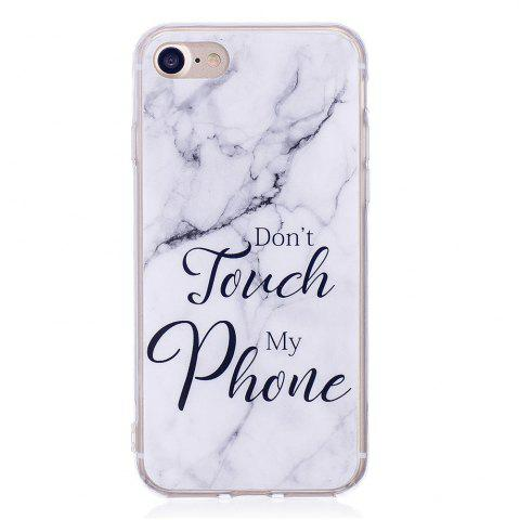 Online Fashion Marble Phone Case for iphone 8 Soft TPU Cover Fundas Case
