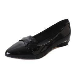 Shallow Mouthed Shingle Chaussures professionnelles pour femmes -