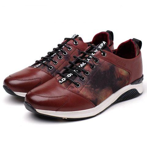Store Men's New Cowhide Style Casual Trainers