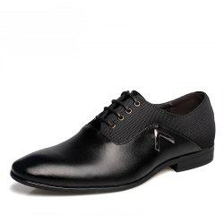 Men Classic Business Soft Pointed Toe Dress Shoes -