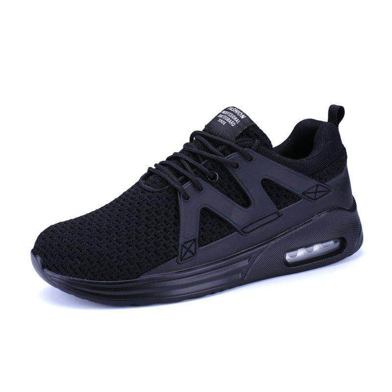 ZEACAVA Новые мужские бегуны Breathable Mesh Sneakers Outdoor Sport Shoes