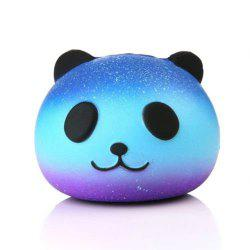 Jumbo Squishy Galaxy Panda Soft Toy for Kids and Adults - Royal Blue