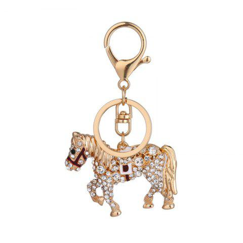 Latest Creative Horse Shape Pendant Ornaments Key Chain
