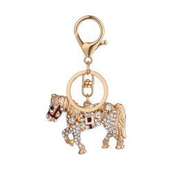 Creative Horse Shape Pendant Ornaments Key Chain -