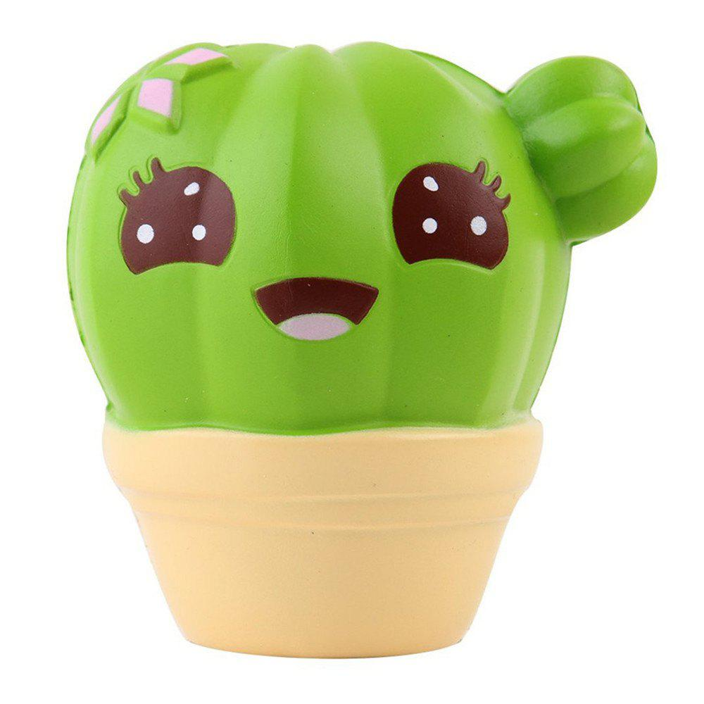 Best Jumbo Squishy Squeeze PU Cactus Packaging Collection Gift Soft Toy