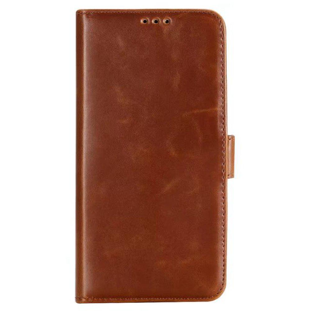 Latest Crazing Horse Texture PU Leather Wallet Case for Samsung Galaxy S9 Plus