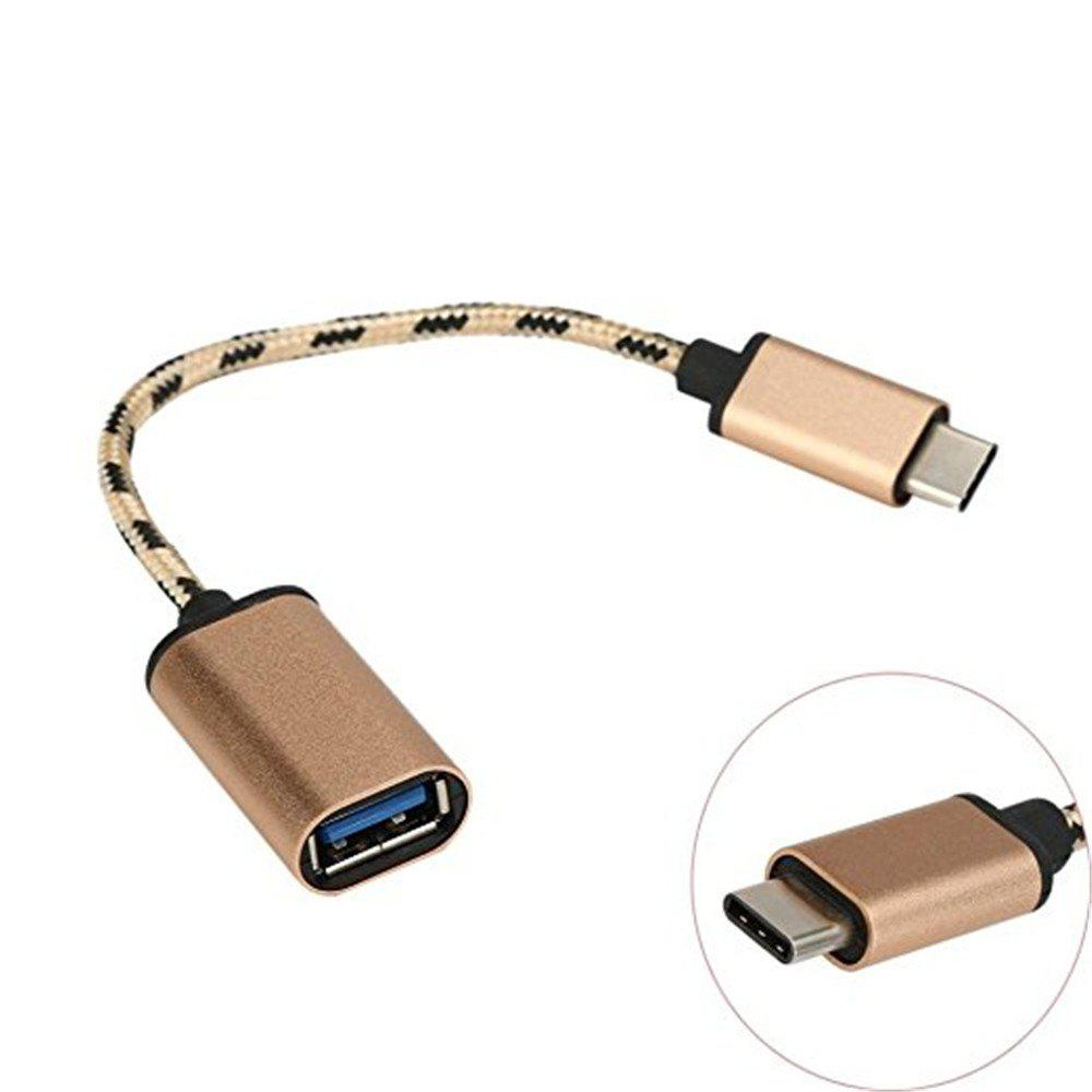 Trendy Type C to USB 3.0 Male-to-Female OTG Data Connector Cable Adapter