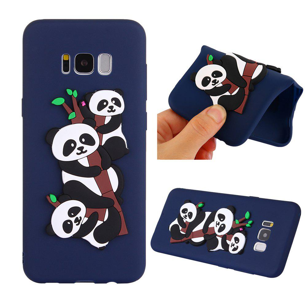 Outfit Case for Samsung S8PLUS 3D Panda Soft Phone Protection Shell