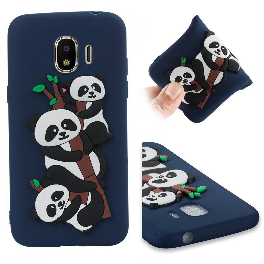 new product 0354e 9c5d6 Case for Samsung J2PRO 2018 3D Panda Soft Phone Protection Shell