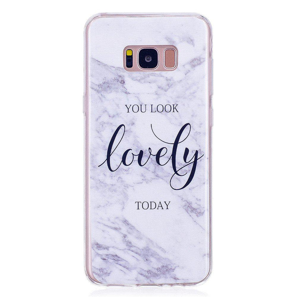 Shop Ultra Thin Lovely Characters Fashion Marble Soft TPU Case for Samsung Galaxy S8