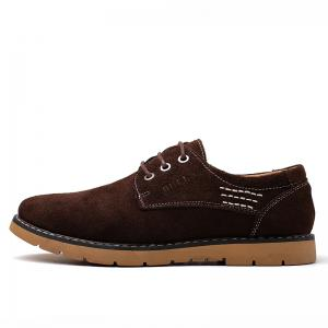 New Cowhide Fashion Sport Men's Casual Shoes -