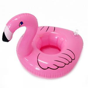 Inflatable Floating Row Cola Coaster Phone Drink Cup Seat for Children Water Toys -