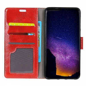 Genuine Quality Retro Style Crazy Horse Pattern Flip PU Leather Wallet Case for Huawei Mate 10 -