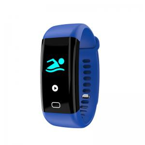 F07 OLED Color screen Bluetooth Smart Band Bracelet IP68 Waterproof Swim Heart Rate monitor Smartband for Android -