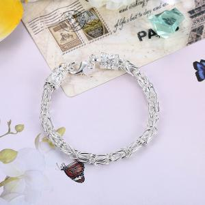 Alloy Chain Bracelet for Men Charm Jewelry -