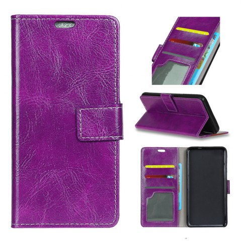 Best Genuine Quality Retro Style Crazy Horse Pattern Flip PU Leather Wallet Case for Huawei Mate 10
