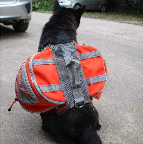 Best Lovoyager VB16005 High Quality Pet Accessories Waterproof Adjustable Nylon Dog Saddle Bag For Hiking Travel