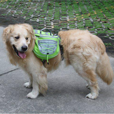 Latest Lovoyager VB16005 High Quality Pet Accessories Waterproof Adjustable Nylon Dog Saddle Bag For Hiking Travel