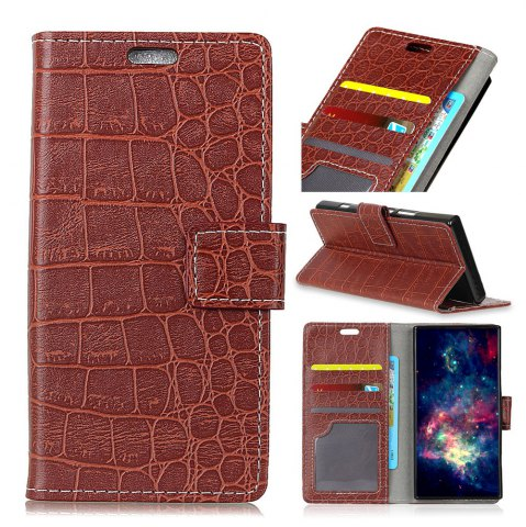 Chic Vintage Crocodile Pattern PU Leather Wallet Case for Xiaomi Redmi Note 5A