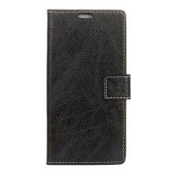 Genuine Quality Retro Style Crazy Horse Pattern Flip PU Leather Wallet Case for  Xiaomi Redmi Note 4X -