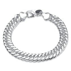 Classic Alloy Chain Bracelet Charm Jewelry for Men -