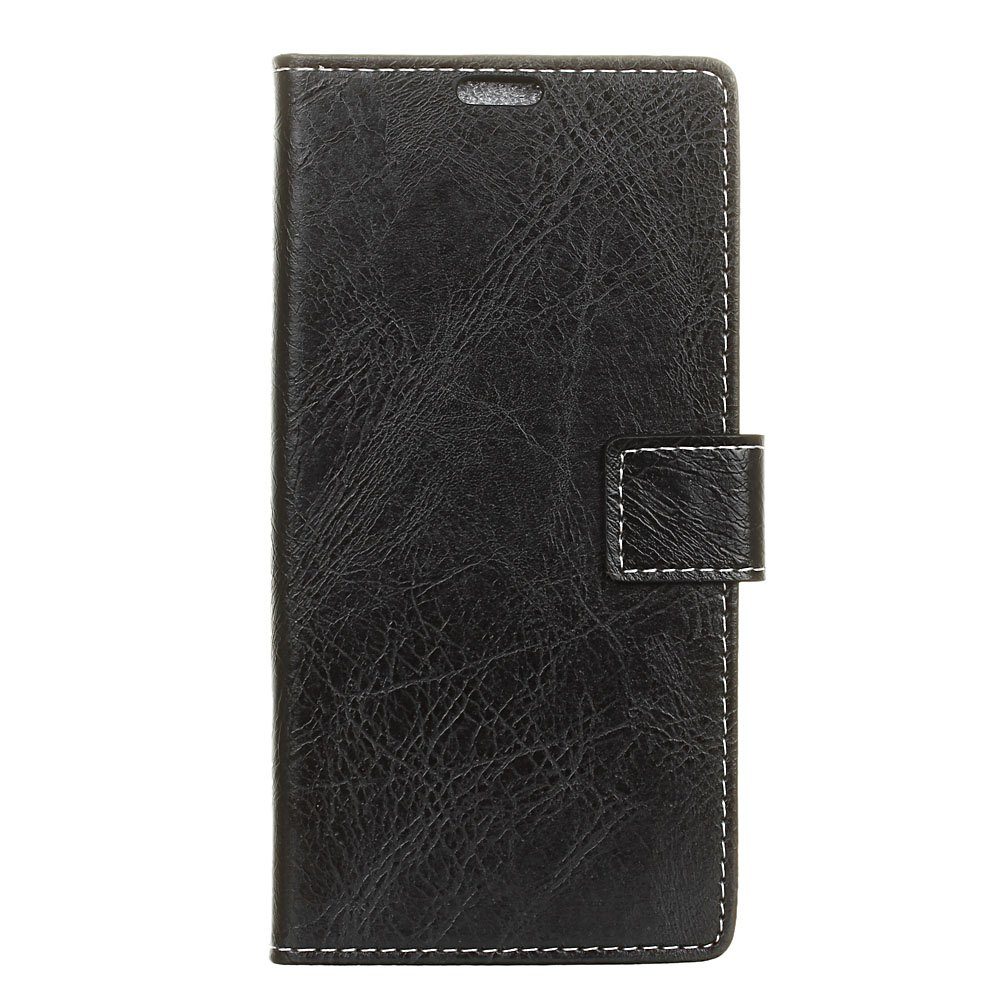 Chic Genuine Quality Retro Style Crazy Horse Pattern Flip PU Leather Wallet Case for  Xiaomi Redmi Note 4