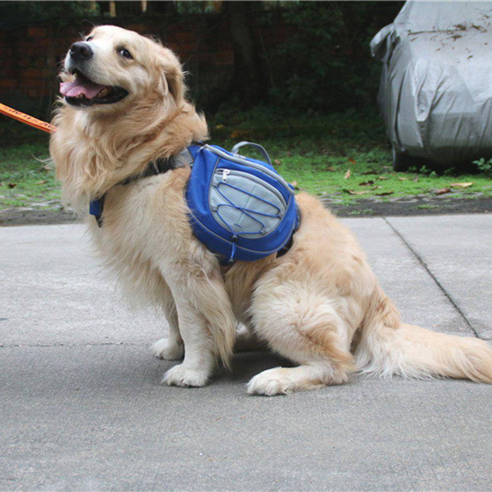 New Lovoyager VB16005 High Quality Pet Accessories Waterproof Adjustable Nylon Dog Saddle Bag For Hiking Travel
