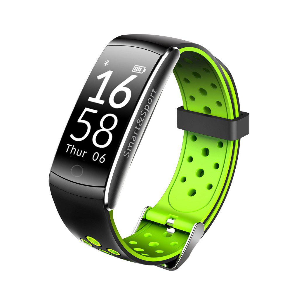 Shop Q8 IP68 Blood Pressure Heart Rate Monitor Fitness Tracker Smart Wristband Bracelet For iOS Android