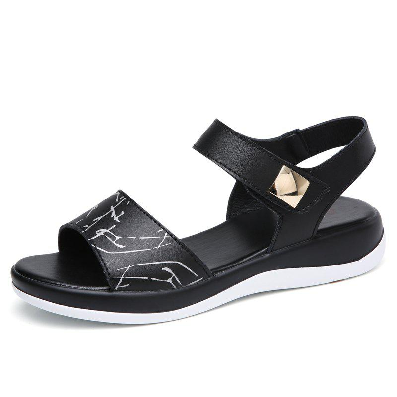 563aebcf3 Latest Summer New Style Two-Color Bottom Ladies Sandals