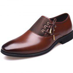 New Men's Classic Point Toe Oxfords For Men Fashion Business Party Dress Shoes -
