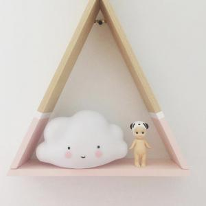 Cloud Smile Face LED Night Light Baby Bedroom Decor Lamps Sleeping Lighting Children Gifts Toys -