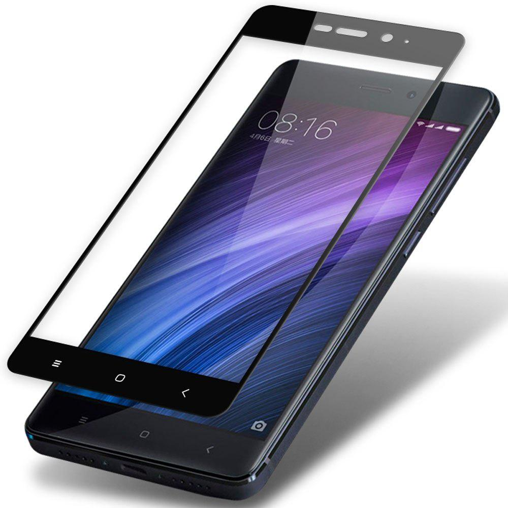 Outfit Screen Protectors for Xiaomi Redmi 4 Pro 32GB Full Coverage Protective Film Tempered Glass