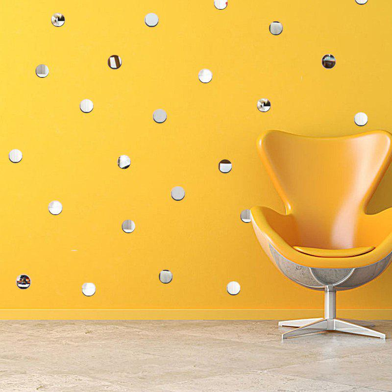 Diy Round Mirror Wall Stickers Removable Home Decal