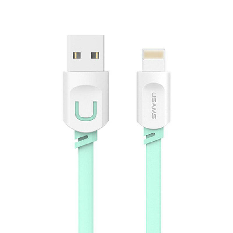 Best USAMS SJ007 2.1A Fast Charging Cable 0.25m for iPhone 8 / 7 / 6