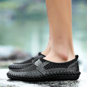 Men Casual Hiking Mesh Breathable Outdoor Sandals Shoes -