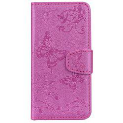 Housse de protection pour iTouch 5/6 Mirror Shell Butterfly et Flower Pattern -
