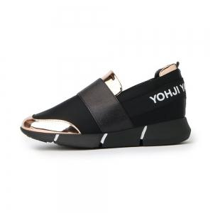 Панель PU Low Top Slip On Sneakers -