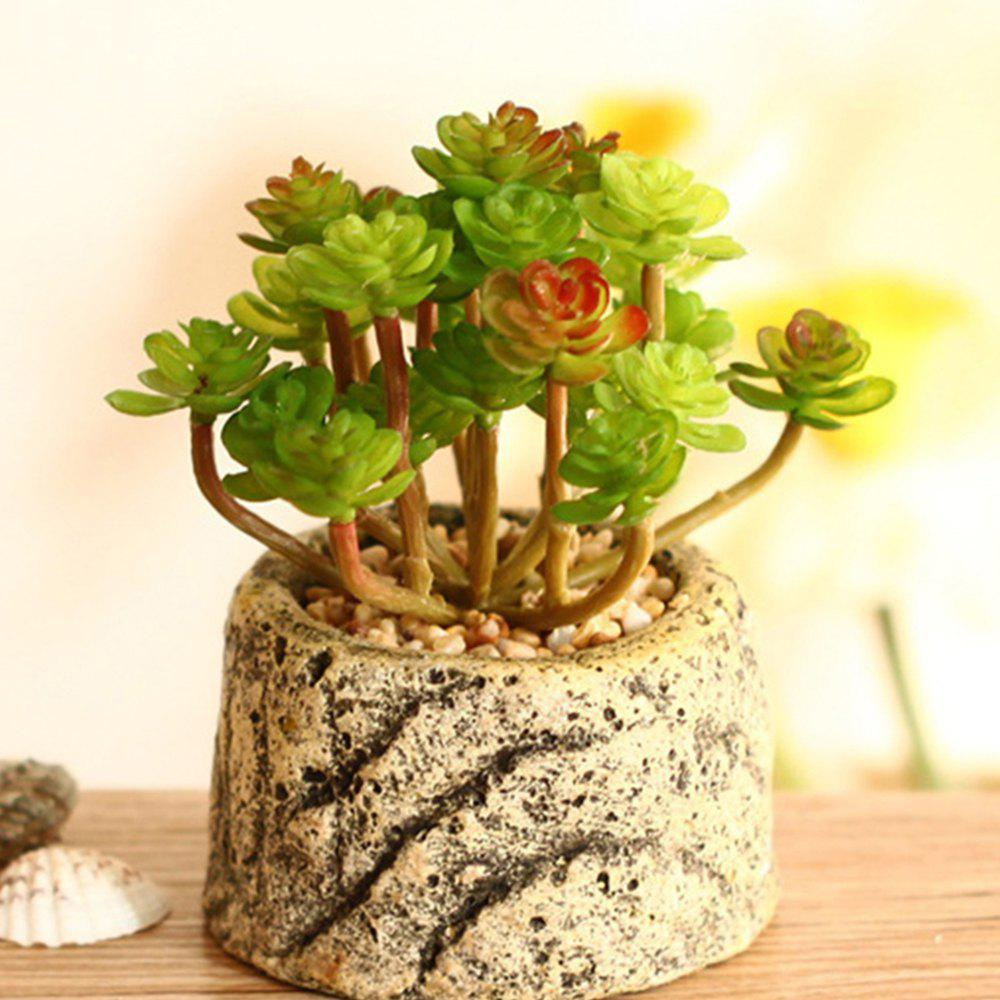 Trendy Miniature Simulation Of Plant Potted Plants
