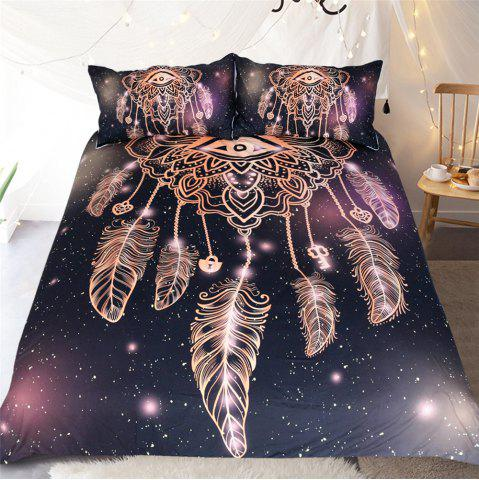 Best Dreamcatcher Eyes Bedding 3pcs Duvet Cover Set Digital Print